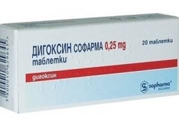 Дигоксин — инструкция по применению, отзывы, аналоги и формы выпуска таблетки 0,1 мг и 0,25 мг, уколы в ампулах для инъекций в растворе лекарственного препарата для лечения сердечной недостаточности у взрослых, детей и при беременности. Состав