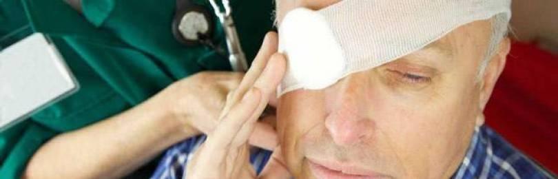 Ухода за больными после удаления и эвисцерации глаза — медицинская статья, новость, лекция