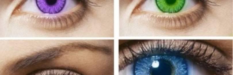 7 вещей, которые могут изменить цвет ваших глаз