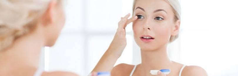 Как обеспечить глазам комфорт при ношении контактных линз