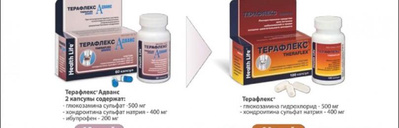 Терафлекс: лекарственное средство для суставных хрящей