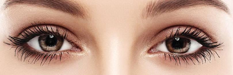Какие цветные линзы подойдут для карих глаз — на темно-карие и светло