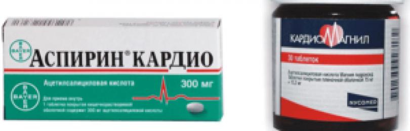 Кардиомагнил инструкция по применению (таблетки)