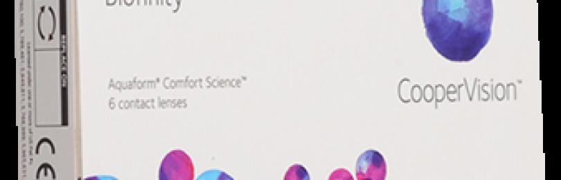 Контактные линзы coopervision biofinity