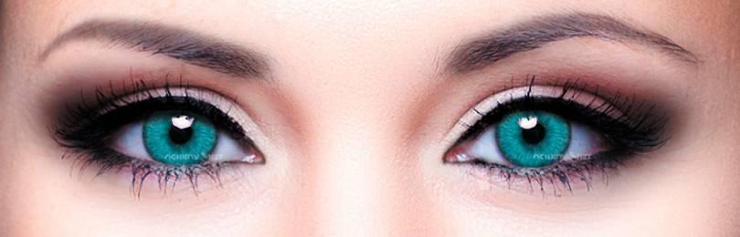 Однодневные оттеночные линзы: цветные, контактные, офтальмикс, с диоптриями, для глаз