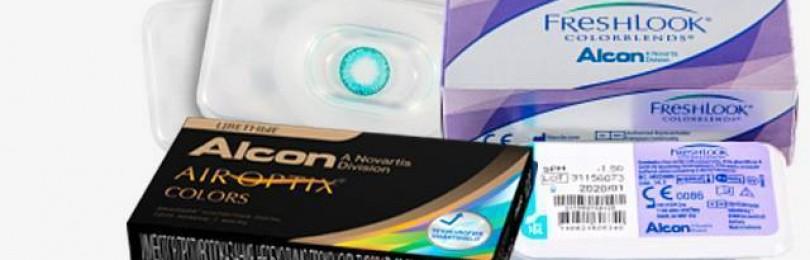 11 видов контактных линз acuvue от производителя jonson&jonson