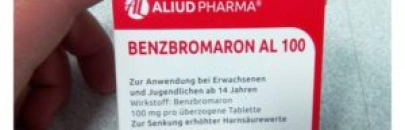 Бензобромарон: описание, инструкция по применению, отзывы