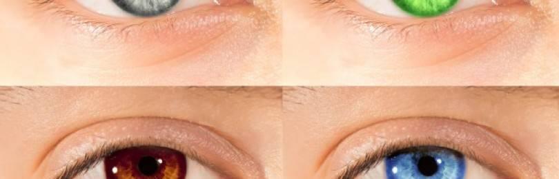 Вредны ли цветные линзы для глаз и зрения