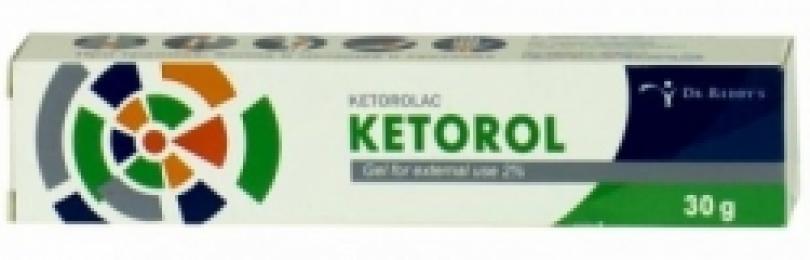 Обзор мази кеторол