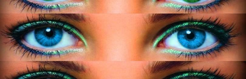 Как изменить цвет глаз народными средствами