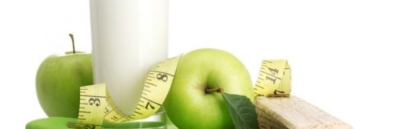 Кто похудел на диете кефир+яблоки?