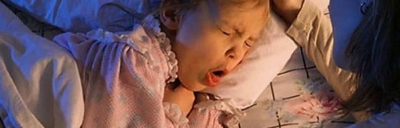 Лающий кашель ребенка без температуры чем лечить народные средства