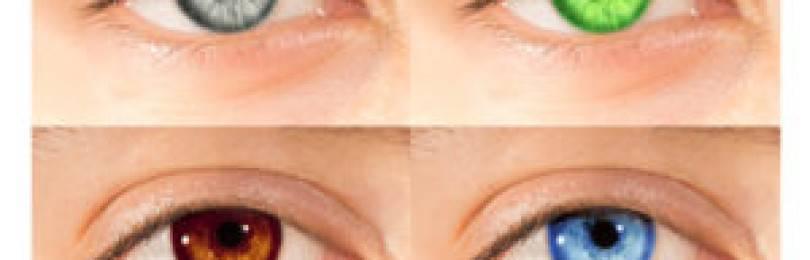 Не вредны ли цветные контактные линзы для глаз