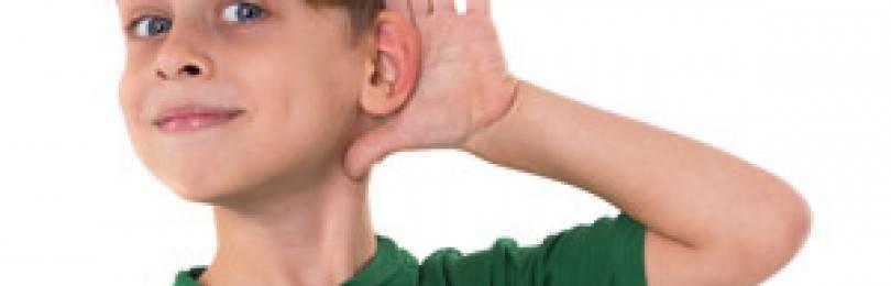 Виды и причины нарушения слуха (сообщение)