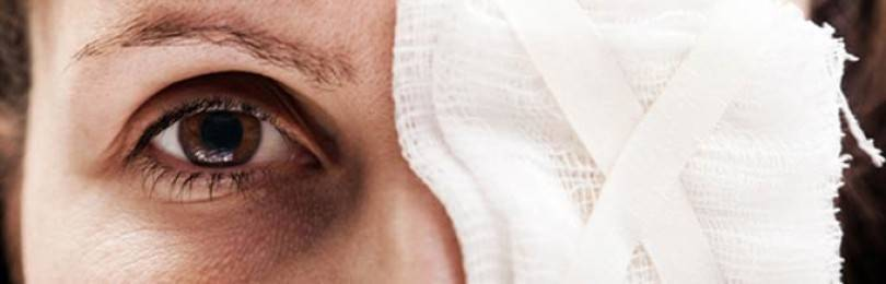 Травма глаза: первая помощь и лечение в домашних условиях
