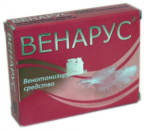 Какие венотонизирующие препараты применяют при лечении геморроя?