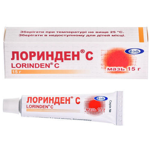 Мазь лоринден c (lorinden c). инструкция по применению, показания, отзывы, цена