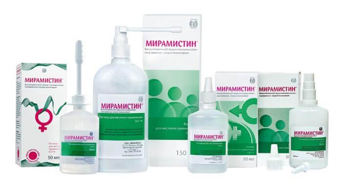 Мирамистин — применение средства от боли в горле