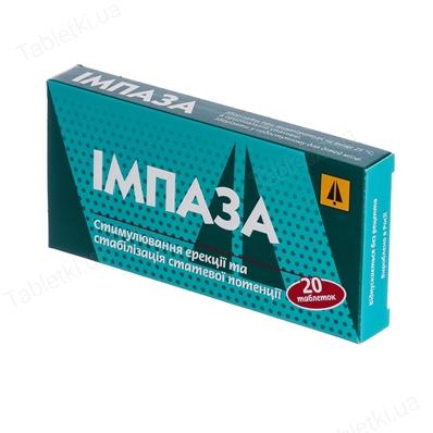 Как принимать импаза таблетки