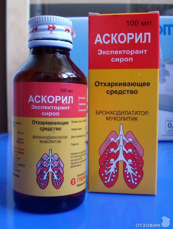 Аскорил (сироп): инструкция по применению, аналоги и отзывы, цены в аптеках россии