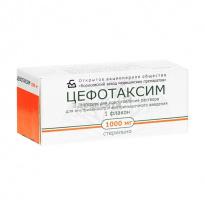 Показания к применению цефотаксима при урологических заболеваниях