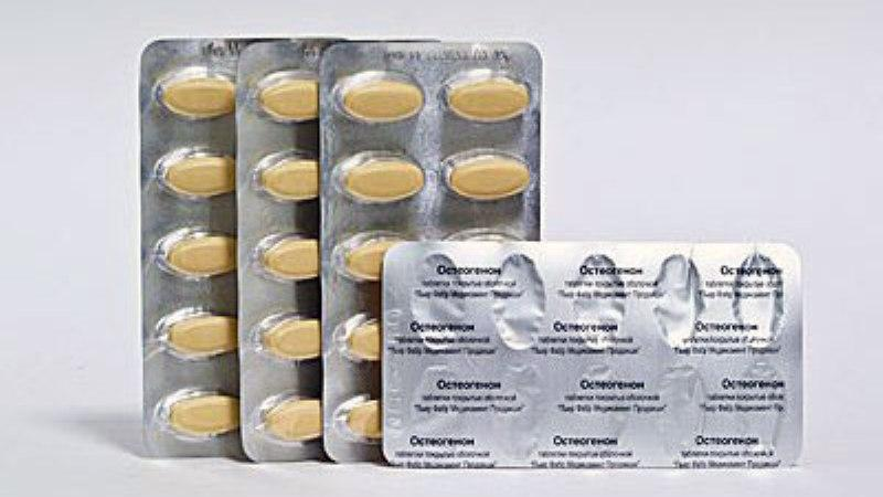 Таблетки остеогенон — состав, показания, побочные действия, аналоги и цена