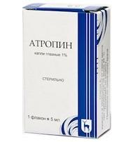 Атропин: инструкция по применению, цена, отзывы, аналоги