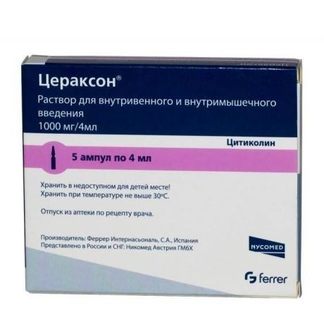 Цераксон и аналоги препарата