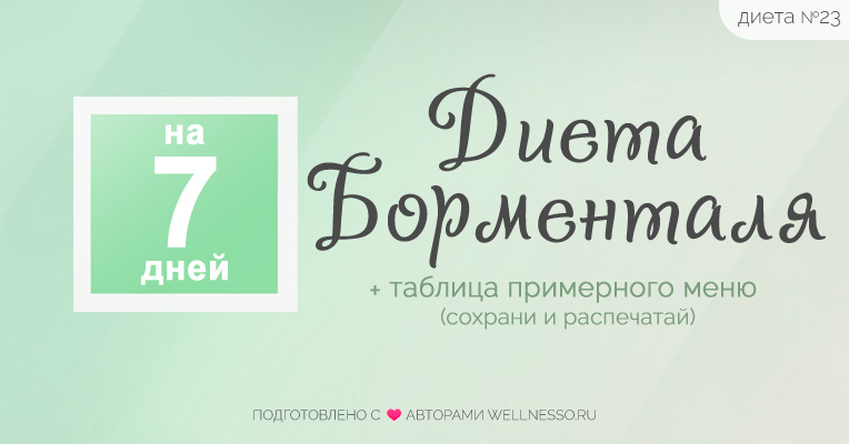 Диеты Для Похудения От Доктор Борменталь. Худеем по Борменталю