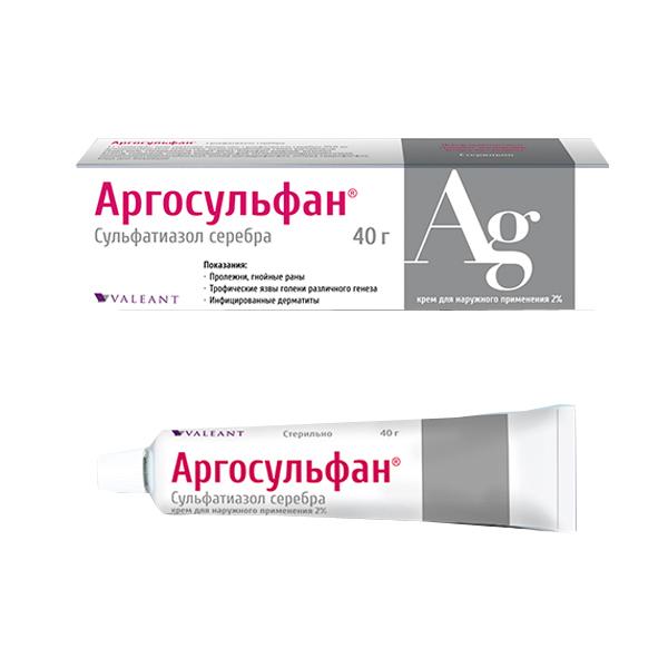 Аналоги крема аргосульфан