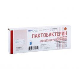 Лактобактерин: полная инструкция по применению