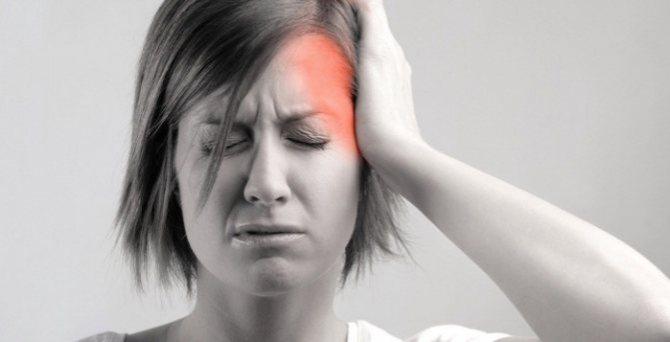 Причины болей в области лба и висков