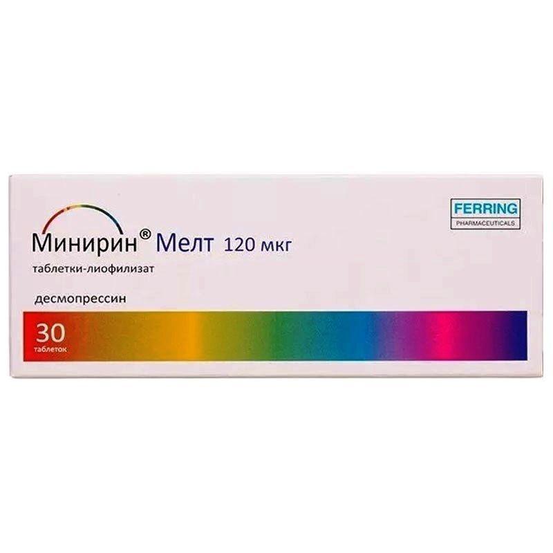 Десмопрессин                                             (desmopressin)                                                                 инструкция по применению