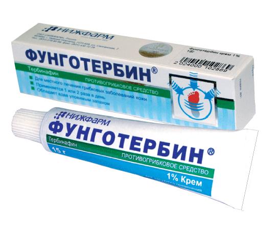 Аналог крема фунготербин