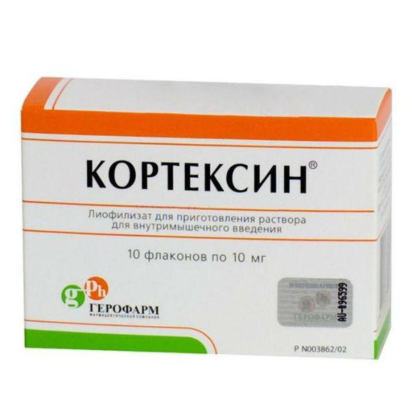 Кортексин в ампулах: инструкция по применению