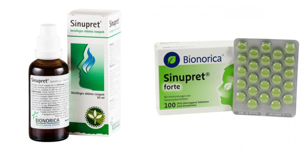 Синупрет: инструкция по применению таблеток и для чего они нужны, цена, отзывы, аналоги