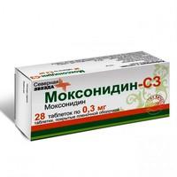Инструкция по применению таблеток моксонидин — при каком давлении и как принимать?
