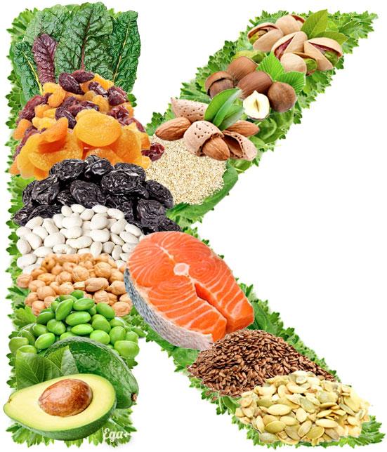Продукты с наибольшим содержанием калия. калий (k) в продуктах питания – как уберечь себя от инсульта и инфаркта? переизбыток калия в организме