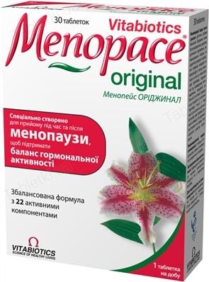 Менопейс: инструкция, показания, дозировки и аналоги, отзывы