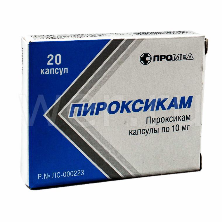 Пироксикам: подробная инструкция по применению различных форм препарата