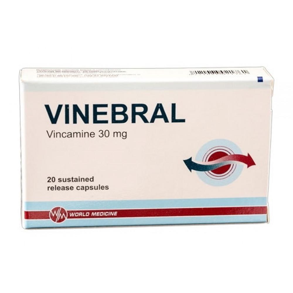 Винебрал: свойства препарата и инструкция по применению