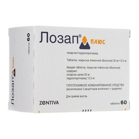 Гидрохлоротиазид + лозартан