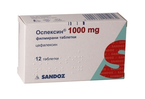 Цефалексин - инструкция и цена