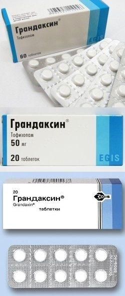 Таблетки грандаксин: инструкция, цены и отзывы врачей