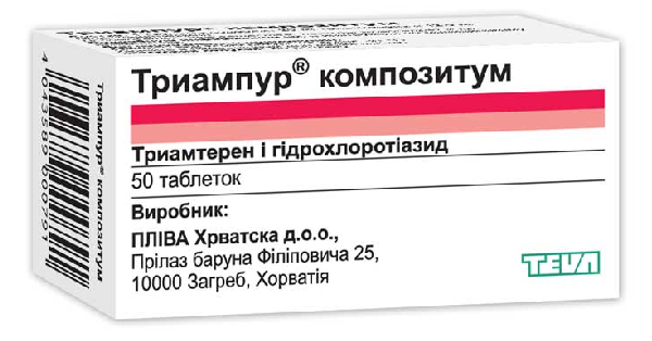 Показания и противопоказания к применению препарата триампур