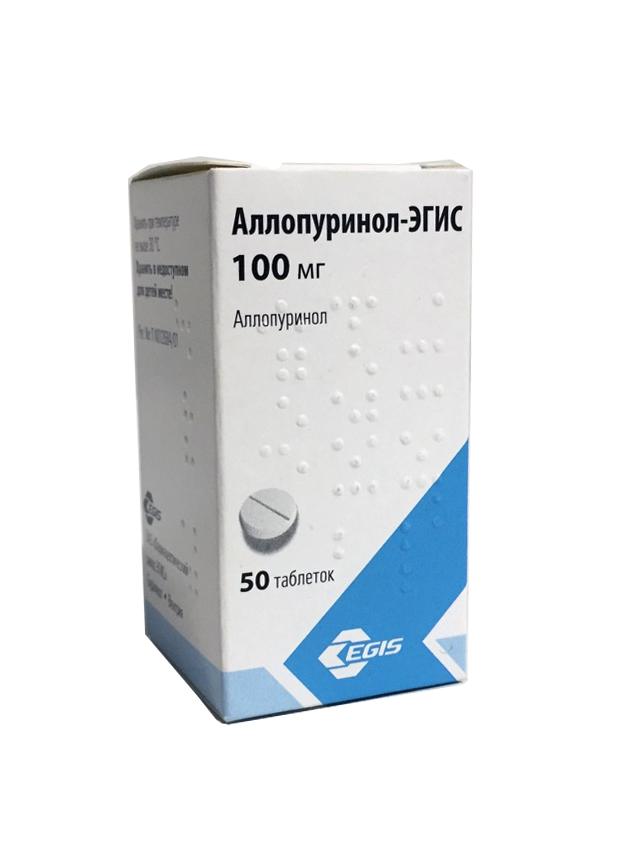 Препарат аллопуринол-эгис