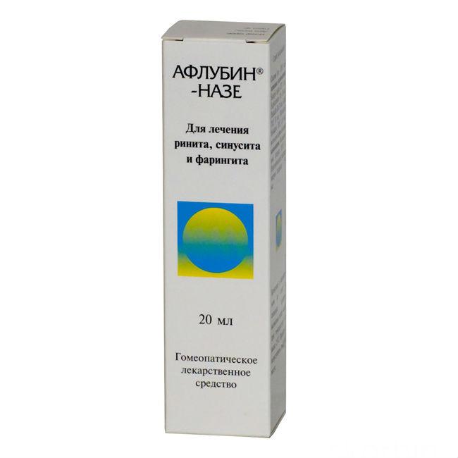 Афлубин капли гомеопатические 50мл инструкция по применению