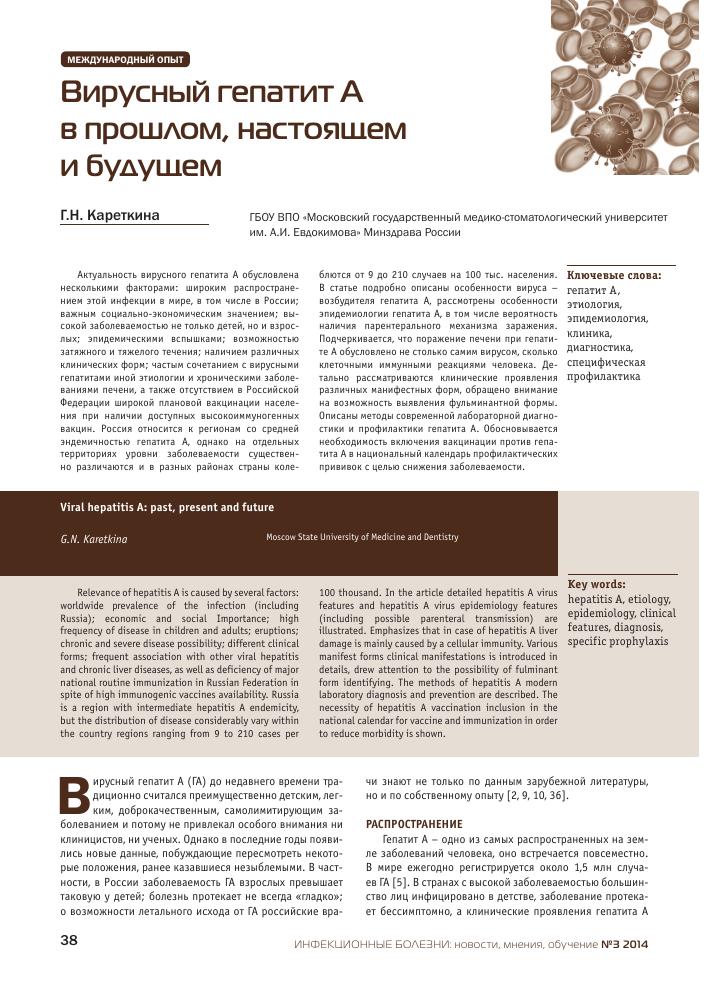 Гепатит. причины, симптомы, виды и лечение гепатита