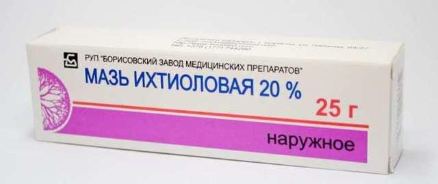 Ихтиоловые свечи в гинекологии