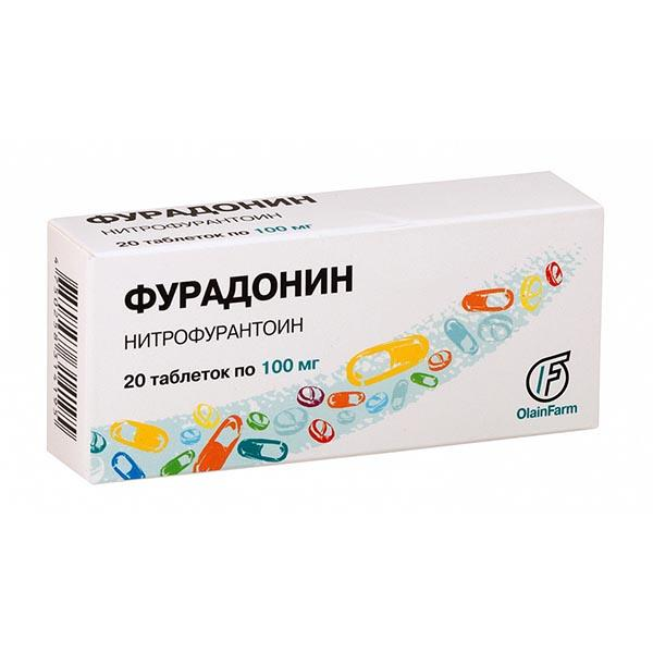 Фурадонин-лект таблетки тюменский хфз